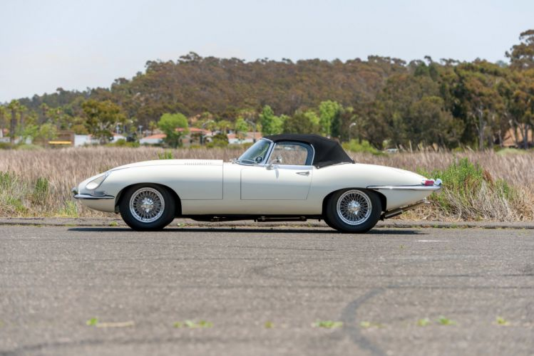 1967 Jaguar E-Type Open Two Seater Series-I luxury classic d wallpaper