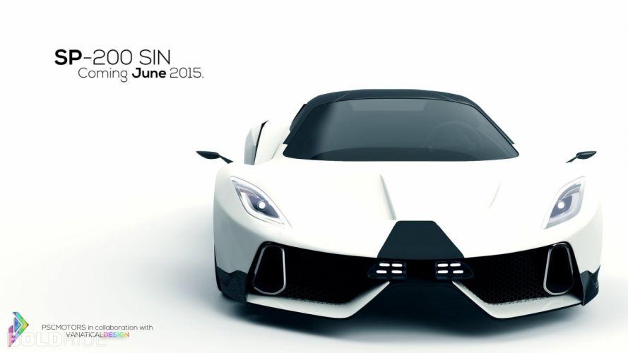 2015 PSC Motors SP200 SIN supercar d wallpaper