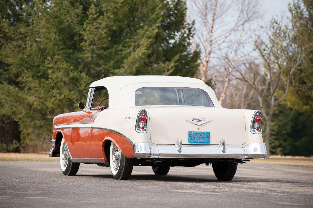 1955 Chevrolet Bel Air Nomad wagon classic cars wallpaper