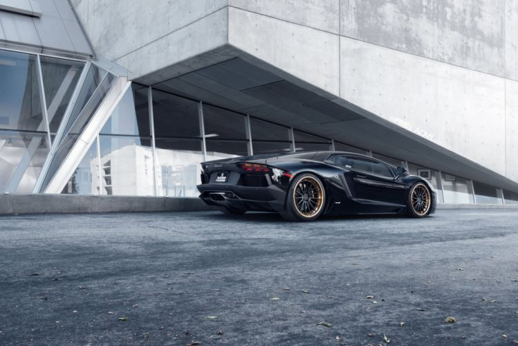 ADV 1 WHEELS LAMBORGHINI AVENTADOR LP700 cars supercars tuning black wallpaper