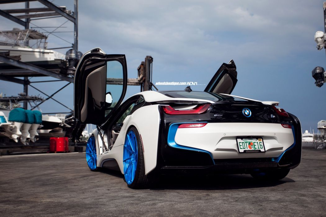Adv 1 Wheels Bmw I8 Cars Electric Coupe Tuning White Wallpaper