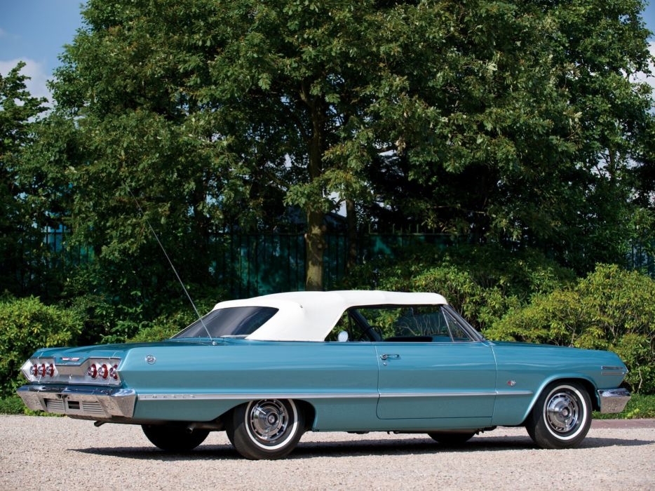 1963 Chevy Impala Wallpaper: 1963 Chevrolet Impala-SS Convertible Cars Classic