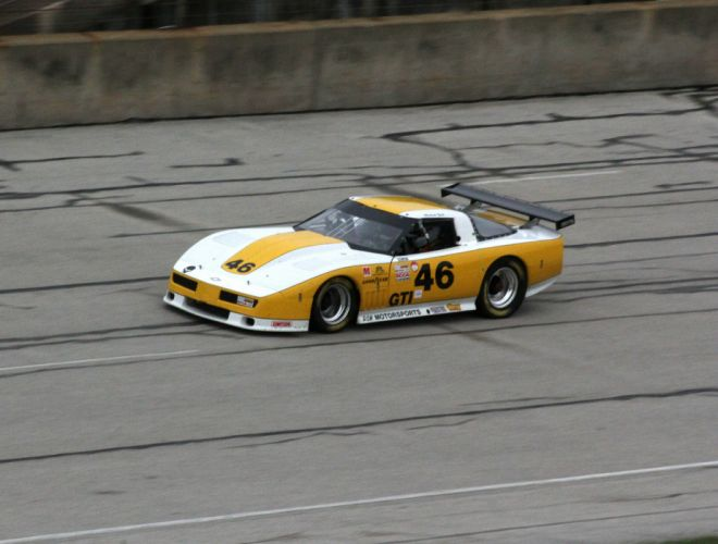 Race cars corvette wallpaper