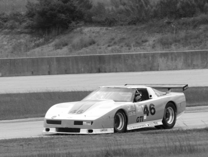 Race cars Corvette wallpaper