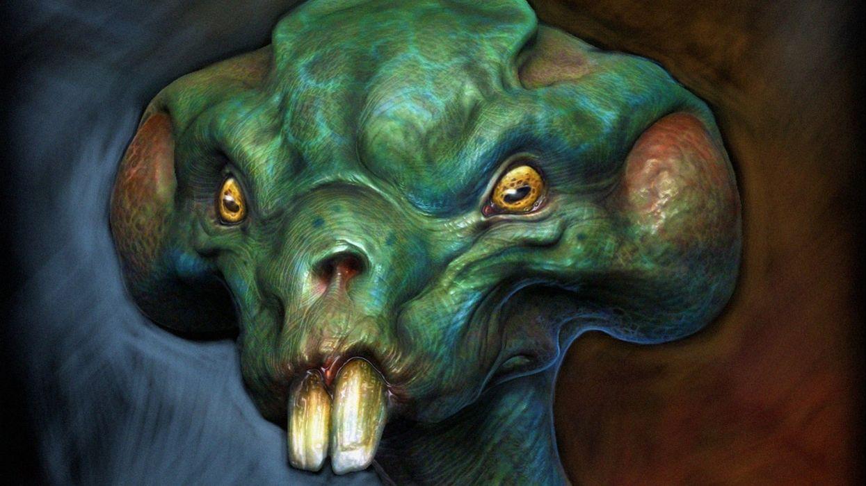 sci-fi alien creature monster artwork aliens d wallpaper