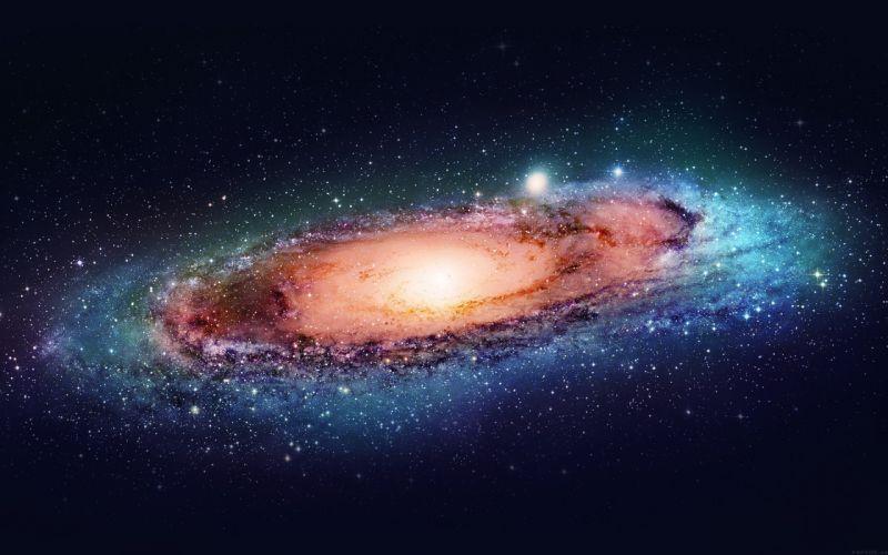 galaxy space art illust planets dark wallpaper