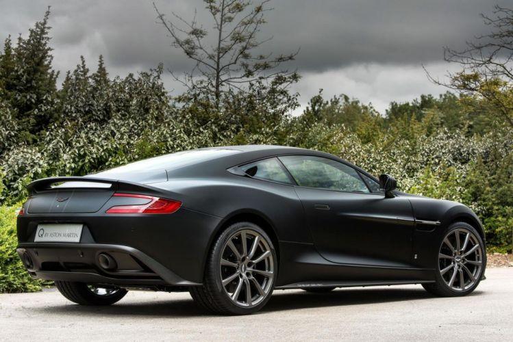 2015 Aston Martin Vanquish One of Seven cars coupe black wallpaper