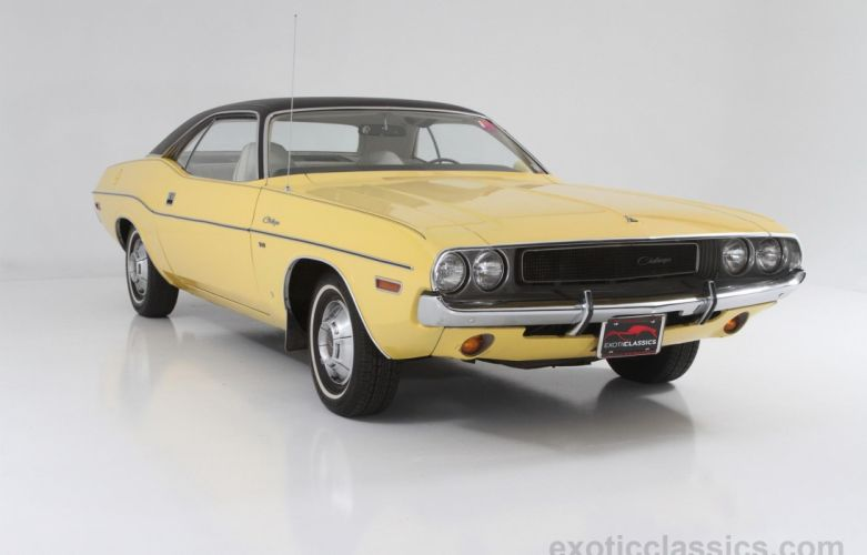 1970 Dodge Challenger classic coupe cars wallpaper