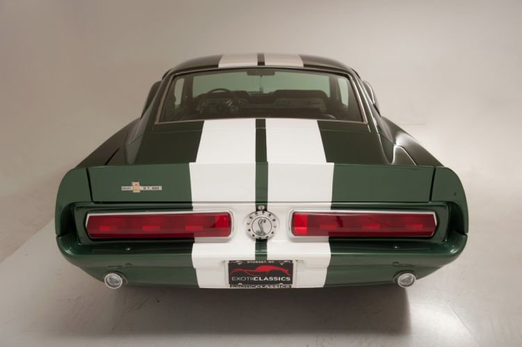 1967 Ford Mustang GT-500 classic cars eleanor tribute green wallpaper