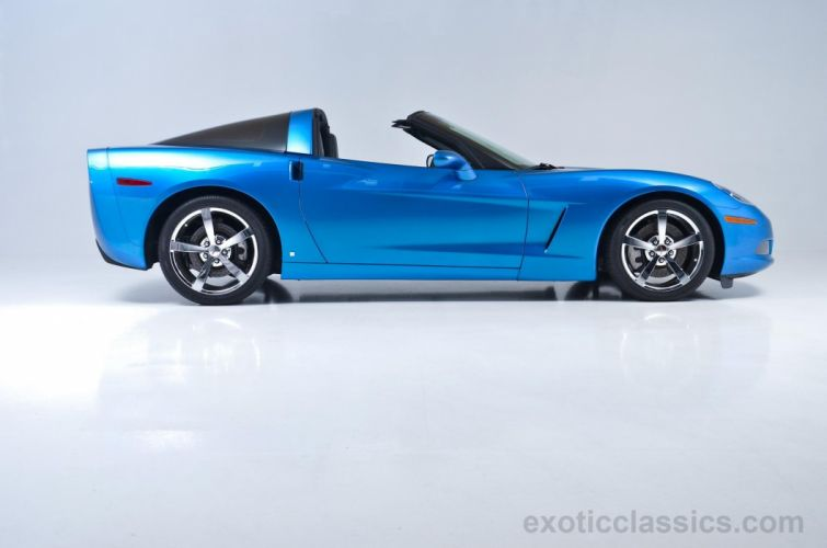 2008 chevrolet chevy Corvette coupe cars blue wallpaper