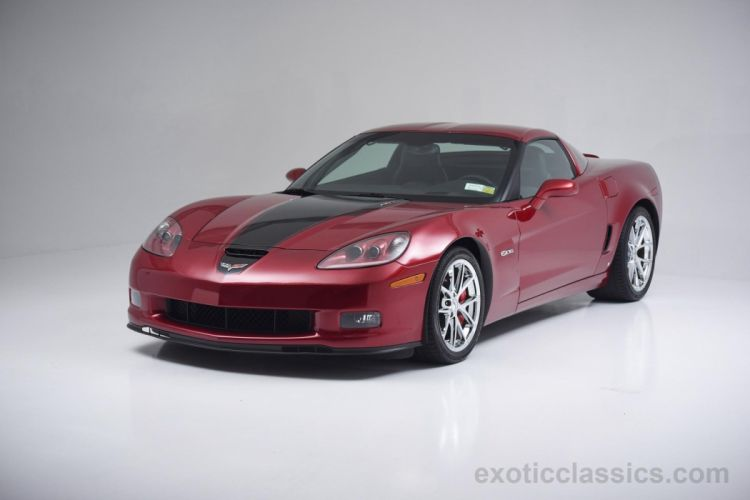 2008 Chevrolet Corvette Z06 Cooksey Edition 427 coupe cars red wallpaper