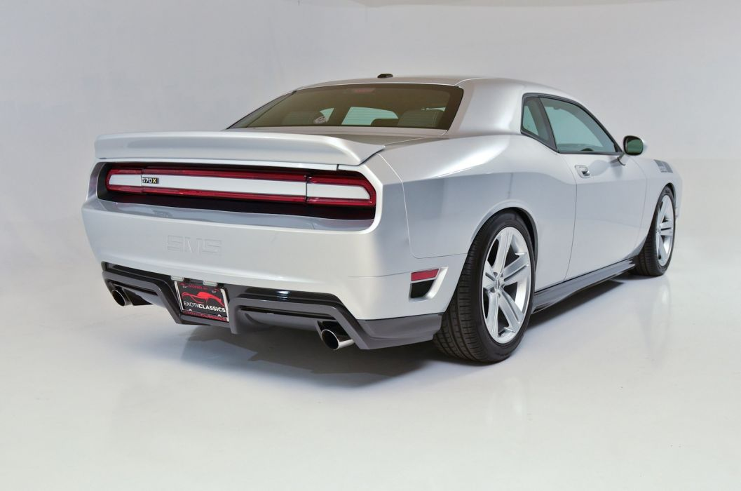 SMS 570X Challengers coupe cars Dodge modified wallpaper