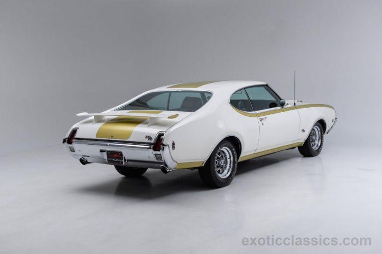 1969 Hurst Oldsmobile 455 coupe cars classic white wallpaper