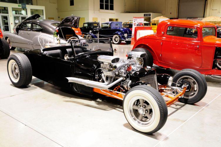 1929 Ford Roadster Street Shaker Rod Hot Custom Old School USA -01 wallpaper