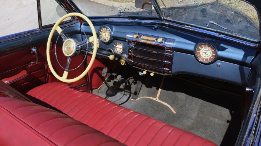 1947 Buick Roadmaster Super Eight Convertible Classic Old Retro Vintage Original USA -06 wallpaper