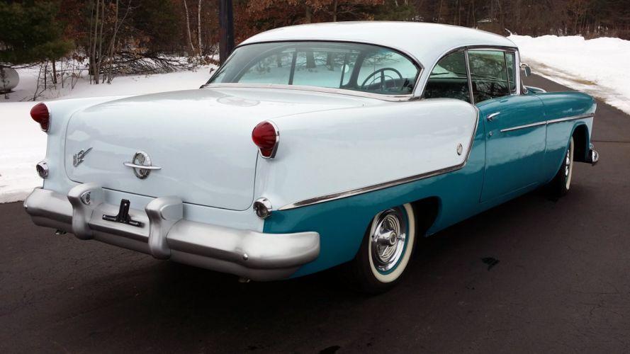 1954 Oldsmobile Super 88 Coupe Classic Old Retro Vintage Original USA -02 wallpaper