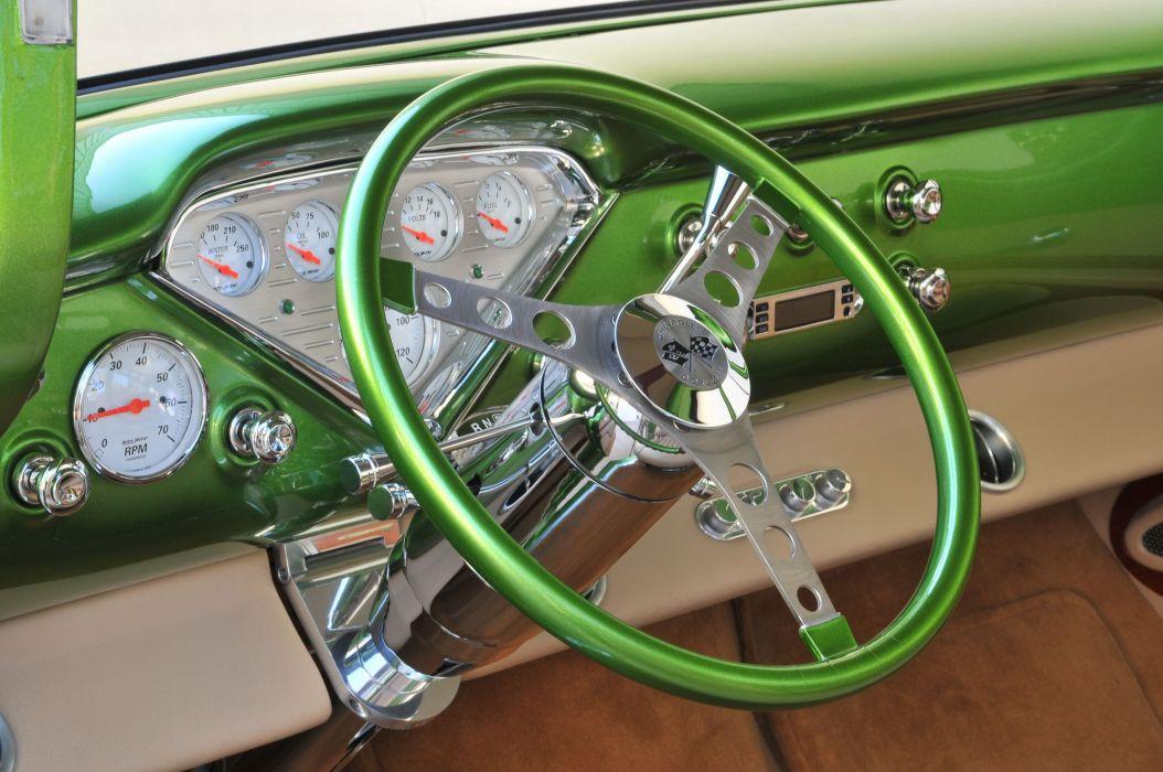 1955 Chevrolet Chevy 3100 Pickup Stepside Street Rod Hot USA -04 wallpaper