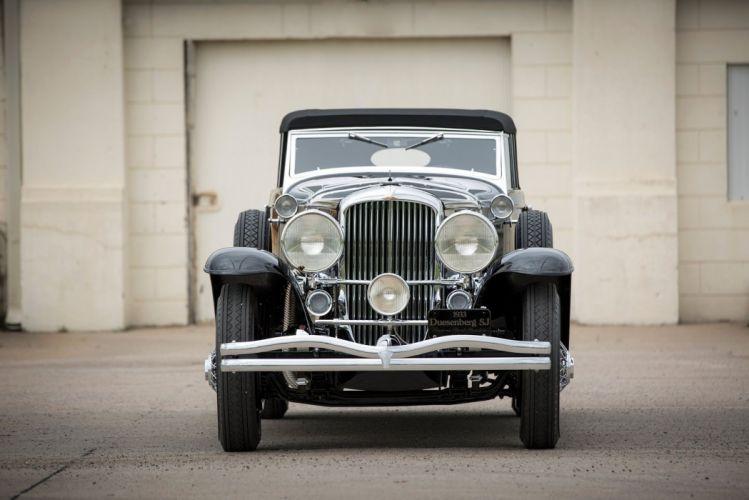 2551 Riviera classic cars Phaeton SWB Brunn black 1933 wallpaper