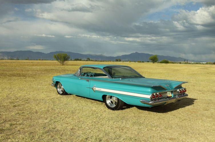 1960 Chevrolet Chevy Impala Streetrod Street Rod Hot USA -01 wallpaper