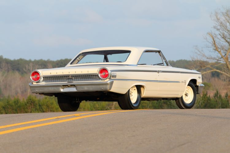 1963 Ford Galaxie 500 427 Lightweight Muscle Classic Old USA -03 wallpaper