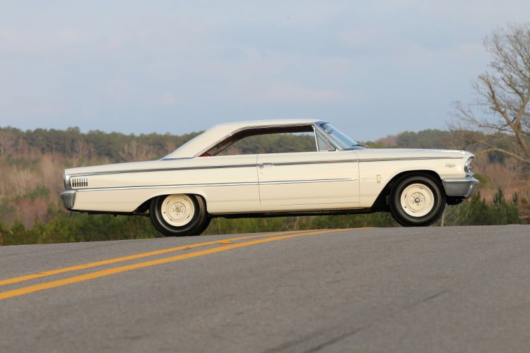 1963 Ford Galaxie 500 427 Lightweight Muscle Classic Old USA -02 wallpaper