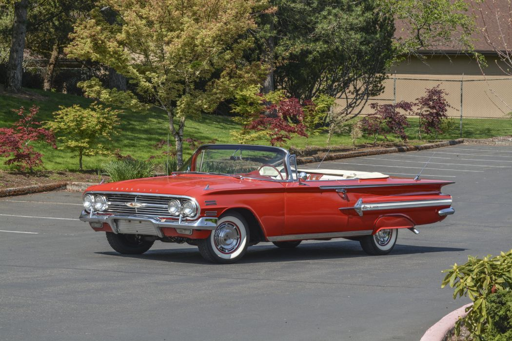 1960 Chevrolet Impala Convertible Classic Old Vintage Original USA ...