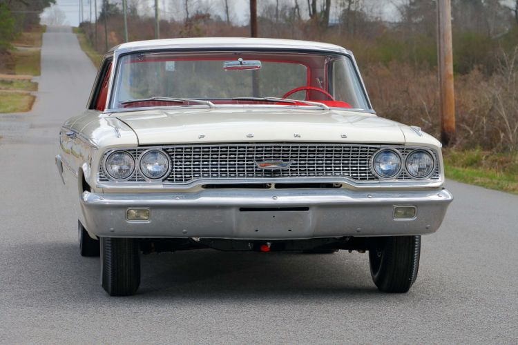 1963 Ford Galaxie 500 427 Lightweight Muscle Classic Old USA -07 wallpaper