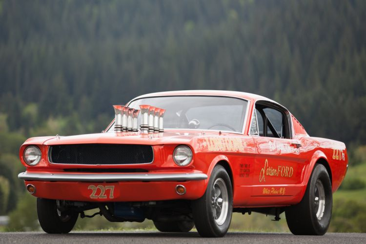 1965 Ford Mustang A-FX Holman Moody Prostock Drag Dragster Race Car USA -01 wallpaper