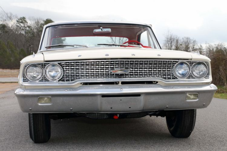 1963 Ford Galaxie 500 427 Lightweight Muscle Classic Old USA -10 wallpaper