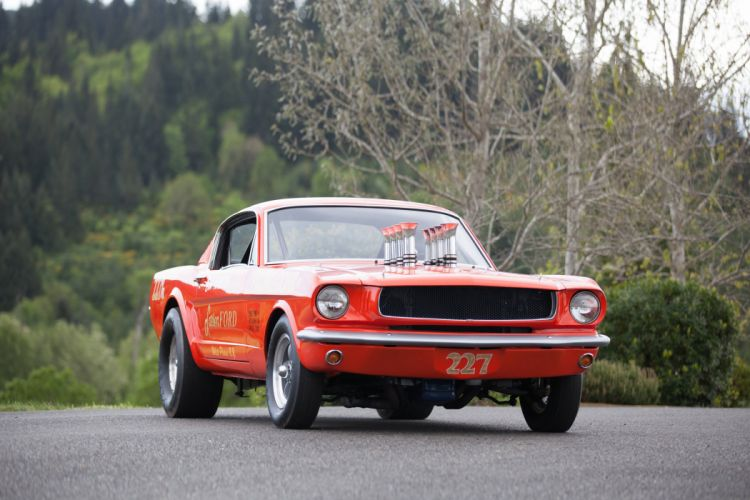 1965 Ford Mustang A-FX Holman Moody Prostock Drag Dragster Race Car USA -03 wallpaper