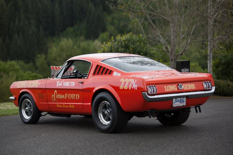 1965 Ford Mustang A-FX Holman Moody Prostock Drag Dragster Race Car USA -05 wallpaper