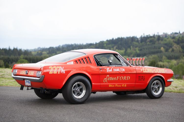 1965 Ford Mustang A-FX Holman Moody Prostock Drag Dragster Race Car USA -07 wallpaper