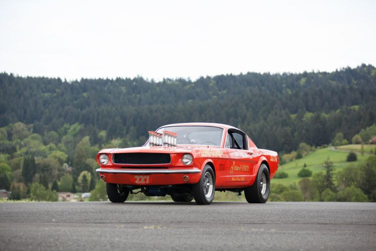 1965 Ford Mustang A-FX Holman Moody Prostock Drag Dragster Race Car USA -08 wallpaper