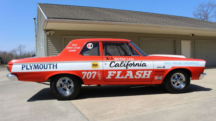 1965 Plymouth Belvedere Superstock Super Stock Drag Dragster Race USA -02 wallpaper