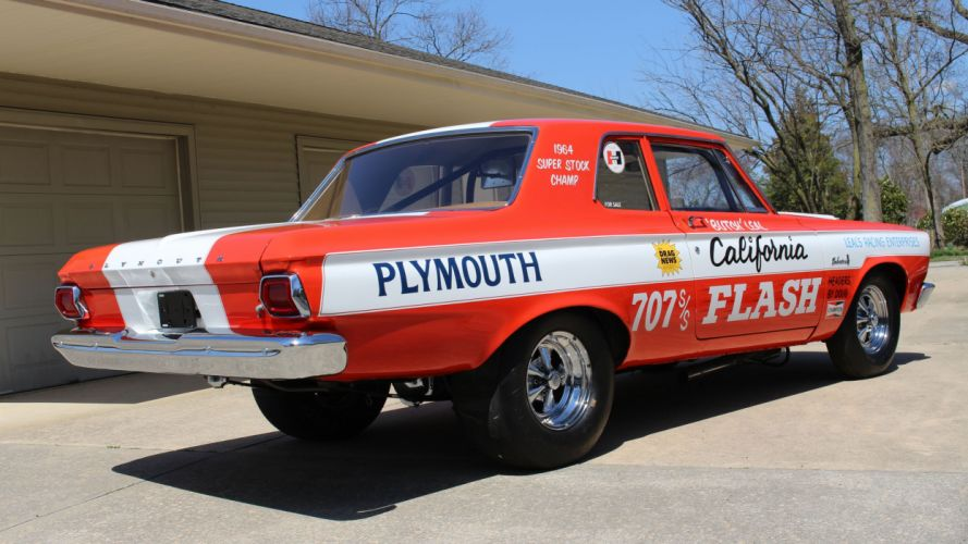 1965 Plymouth Belvedere Superstock Super Stock Drag Dragster Race USA -09 wallpaper