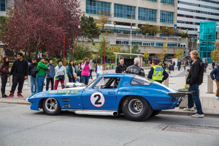1966 Chevrolet Chevy Corvette Prostock Pro Stock Drag Race Dragster Blue USA-07 wallpaper