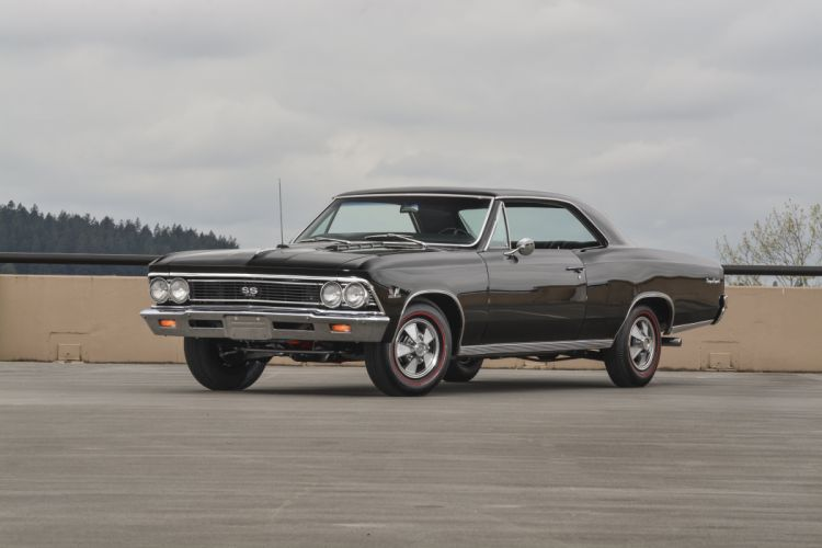 1966 Chevrolet Chevelle SS Hardtop Muscle Classic Old Original USA -01 wallpaper