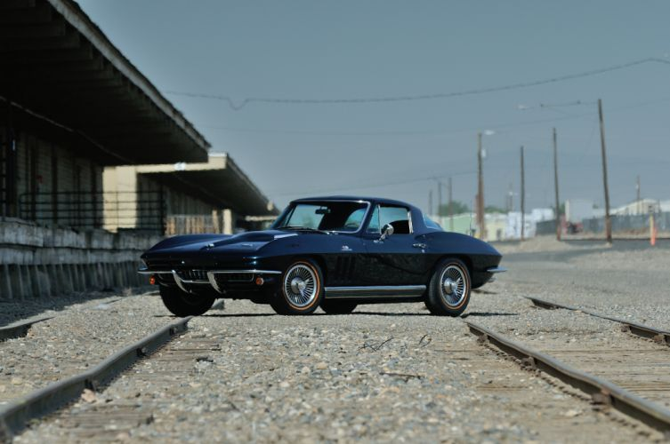 1966 Chevrolet Corvette Stingray Coupe Muscle Classic Old Original USA -01 wallpaper