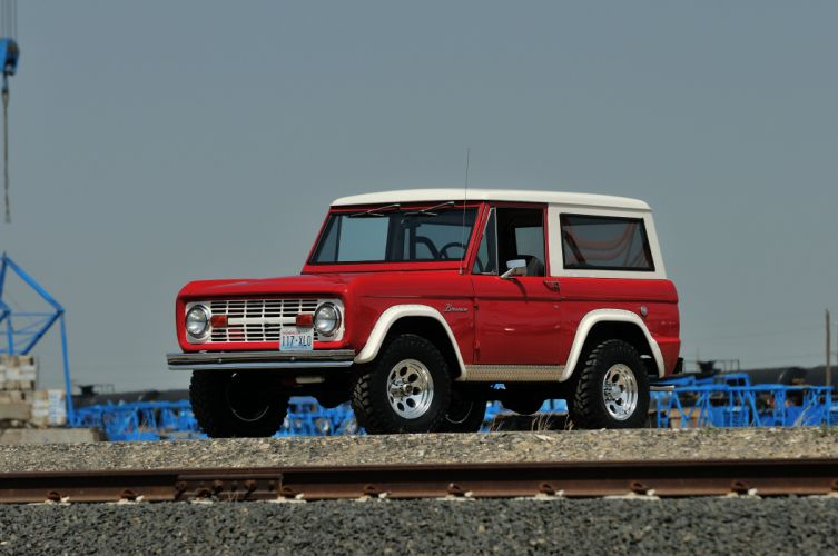 1966 Ford Bronco Four Wheel Drive 4x4 Classic Old USA -01 wallpaper