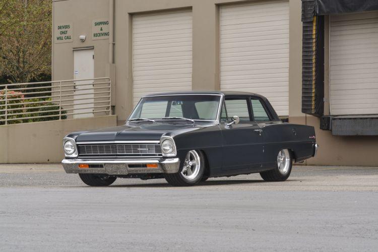 1966 Chevrolet Nova Resto Mod Street Rod Hot Pro Muscle USA -01 wallpaper