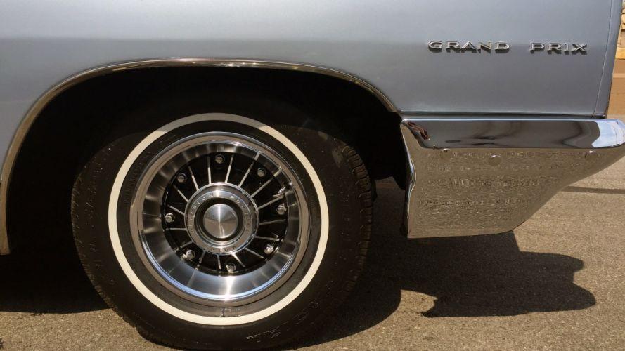 1966 Pontiac Grand Prix Coupe Muscle Classic Old Original USA -02 wallpaper