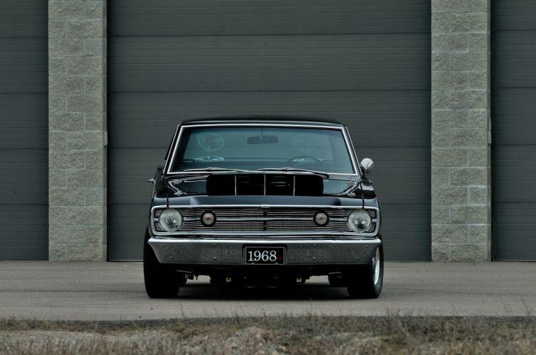 1968 Dodge Dart Resto Mod Muscle Drag Street Dragster Super USA -10 wallpaper