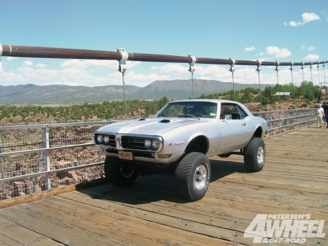 1968 Pontiac Firebird Muscle Off Road Hot Four Whell Drive USA -01 wallpaper