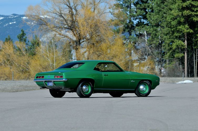1969 Chevrolet Camaro COPO Muscle Classic Old Original USA -04 wallpaper