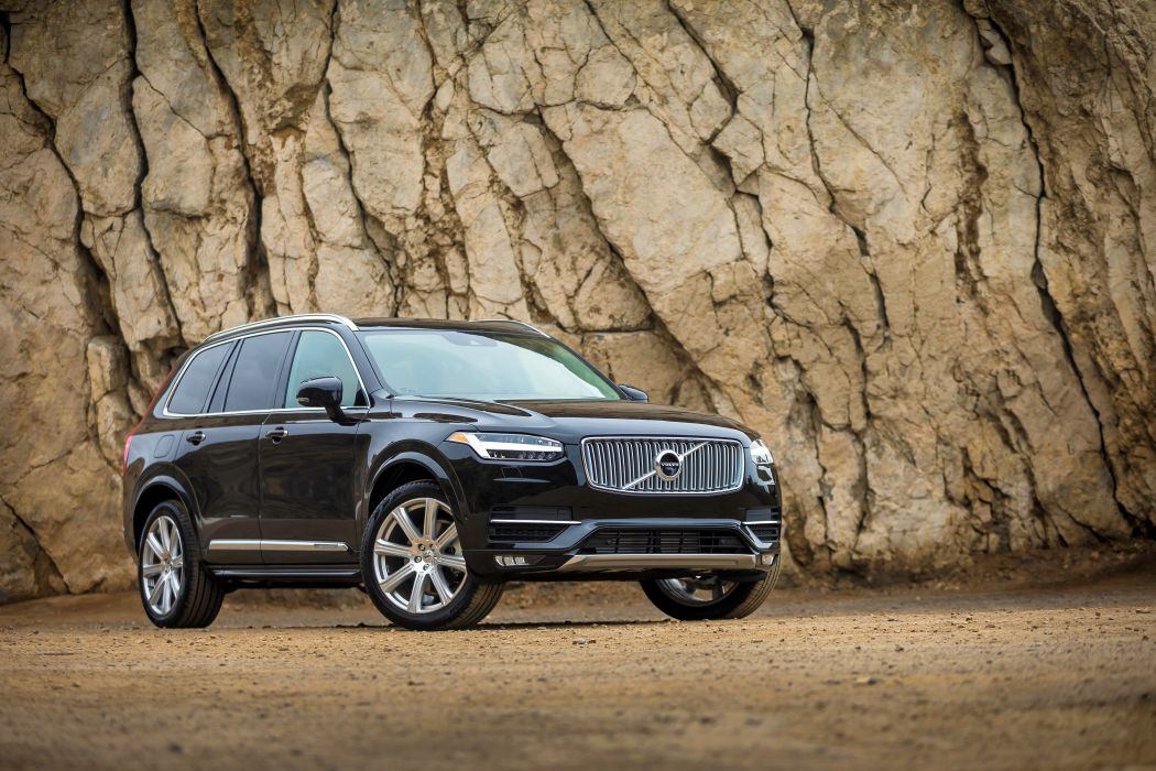 2016 Volvo XC90 T6 AWD First Edition US-spec cars suv 2015 wallpaper