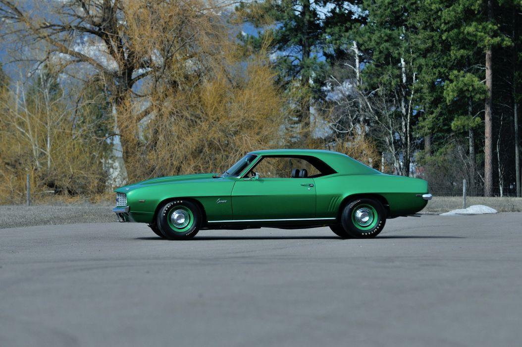 1969 Chevrolet Camaro COPO Muscle Classic Old Original USA -12 wallpaper