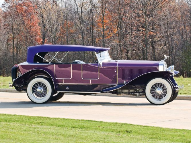 Isotta Fraschini Tipo 8A Boattail Tourer cars classic 1927 wallpaper