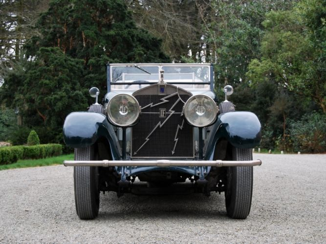 Isotta Fraschini Tipo 8A-S Tourer by Castagna classic cars 1927 wallpaper