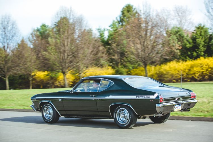 1969 Chevrolet Chevelle 427 Yenko SC Muscle Classic Old USA -10 wallpaper