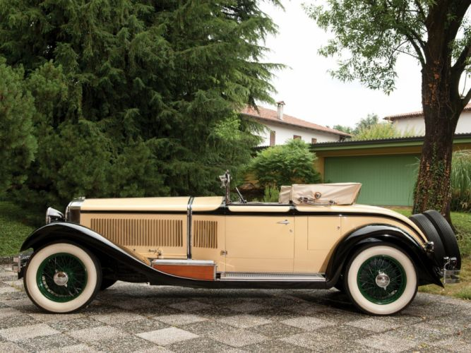 Isotta Fraschini Tipo 8A-S Roadster Cabriolet by Castagna cars classic 1928 wallpaper